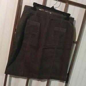 Columbia Sportswear Corduroy mini skirt